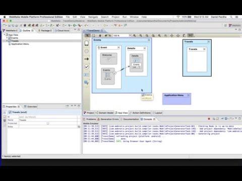 Live DEMO - end2end app development on WebRatio Mobile Platform