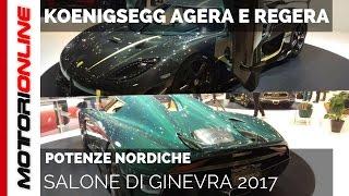 Koenigsegg Agera e Regera | Salone di Ginevra 2017