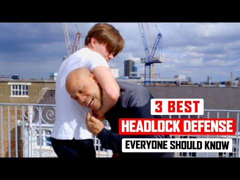 3 Best headlock defense everyone should know ✅  Lesson 2 Wing Chun