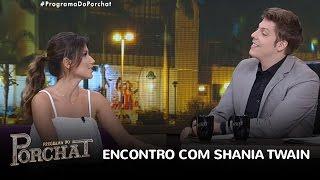 """Paula Fernandes diz que ficou """"bobada"""" com Shania Twain"""