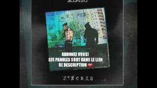 Alonzo - J'écris  [Parole + Audio]