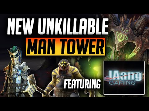 MAN TOWER UNKILLABLE | New 1 Key ALL AFFINITIES & DIFFICULTIES  | Raid: Shadow Legends