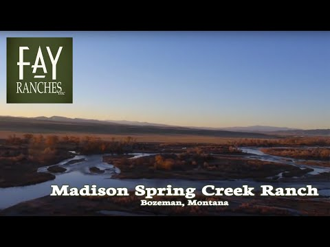 Montana Ranches for Sale - Madison Spring Creek Ranch