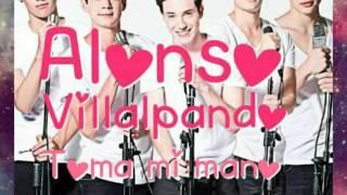 Alonso Villalpando -Toma mi mano ♡ (letra)