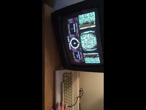 First time play of ARGUS on the Commodore 64