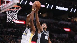 Warriors 3 Game Losing Streak! Rudy Gay Slam! 2018-19 NBA Season