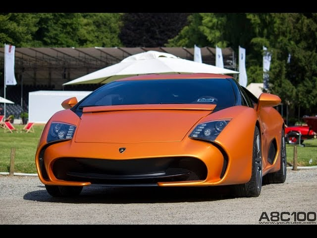 1 of 5 Lamborghini 5-95 Zagato - Start up & Driving Scenes!!