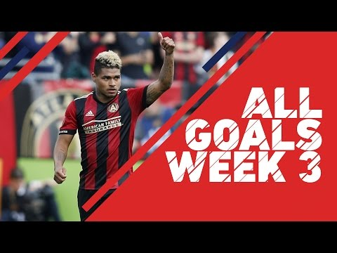 All Goals in Week 3 of the 2017 MLS Season