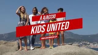 Tournage du nouveau clip des kids united nouvelle génération