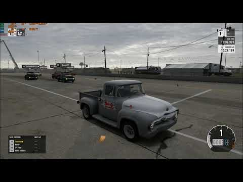 KING OF THE HILL #10 FORD F100 FORZA 7 DRAG RACE