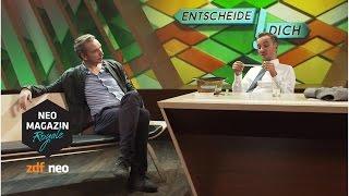 Entscheide dich! mit Olli Schulz | #sundb NEO MAGAZIN ROYALE mit Jan Böhmermann - ZDFneo