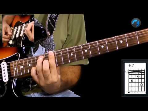 Guitarra Blues - Tetrades (aula técnica de guitarra)