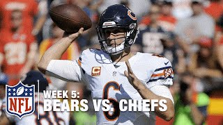 Jay Cutler Throws a Great 22-Yard TD Pass to WR Marquess Wilson | Bears vs. Chiefs | NFL