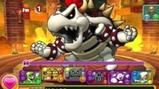 Puzzle and Dragons: Super Mario Edition Bowser's Castle Fast