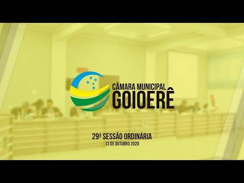 Vídeo na íntegra da Sessão Ordinária da Câmara Municipal de Goioerê dessa terça-feira, 13