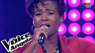 """Mariedne Feliciano canta """"Borboleta"""" / The Voice Angola 2015 / Show ao Vivo 3"""