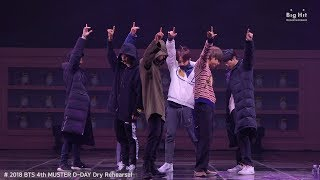 BTS (방탄소년단) Rehearsal Stage CAM 'Best of Me' @4th MUSTER #2018BTSFESTA