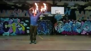 Doodle Grip Fire Fans