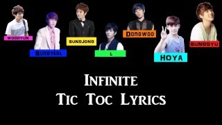 INFINITE (인피니트) – TIC TOC Color Coded Lyrics [HAN/ROM/ENG]