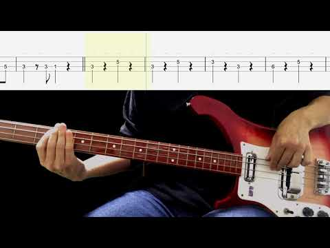 Bass TAB : Girl - The Beatles