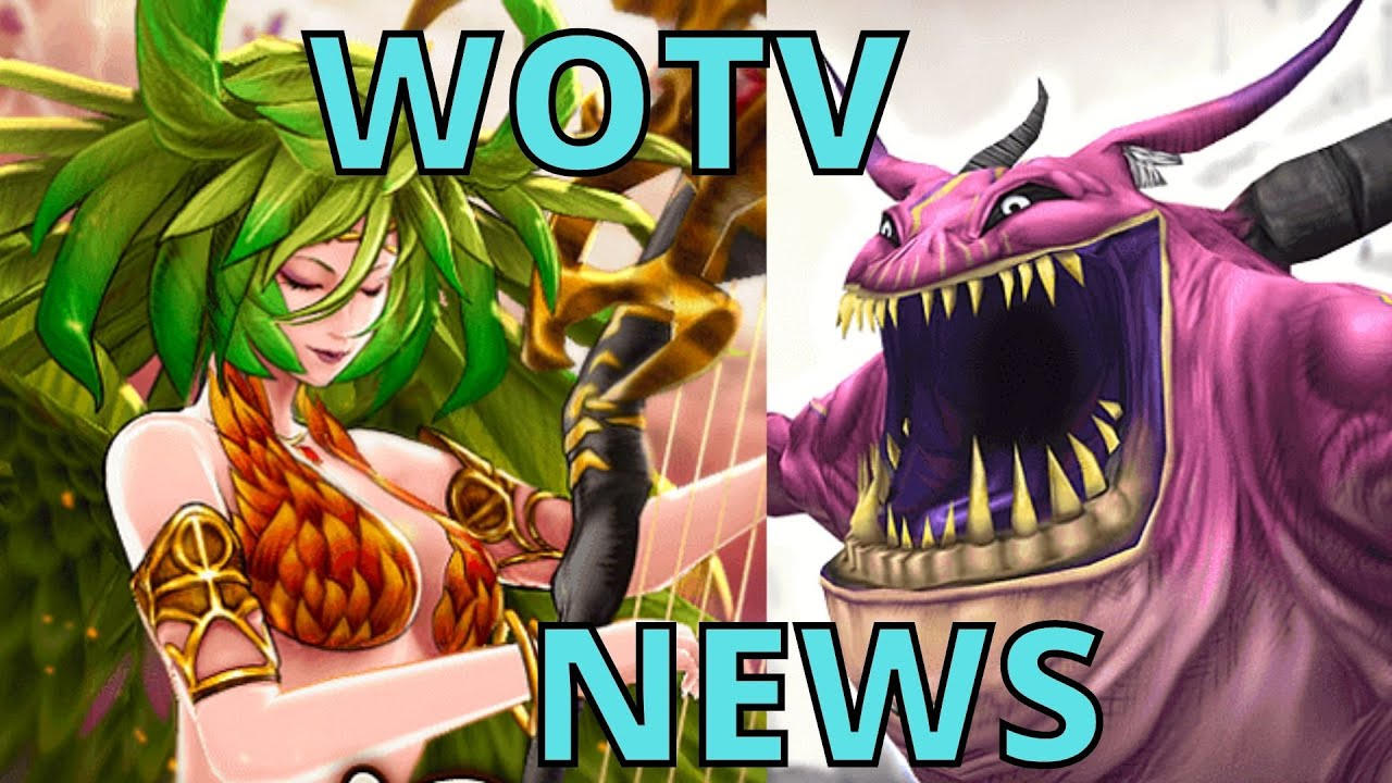 DegenTP - WOTV | News | Siren Raid! | Lunar New Years | Typhon Esper & VC | War of the Visions