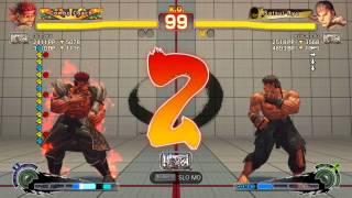 USF4 - Ryu vs Evil Ryu (2 battles)