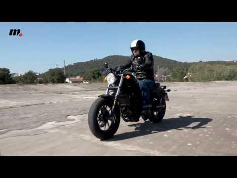 Honda Rebel | Presentación / Test / Review en español | motos.net