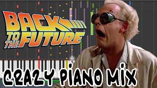 Crazy Piano! BACK TO THE FUTURE THEME
