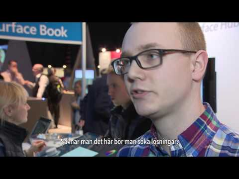 Dustin - Alexander Percivall, Microsoft om mobila utmaningar