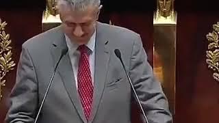 Jean Lassalle encense les gilets jaunes devant l'Assemblée Nationale....interrompu lâchement par le