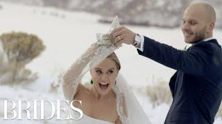 It's a Glee Reunion! Watch Becca Tobin's Emotional Wedding Video | Brides