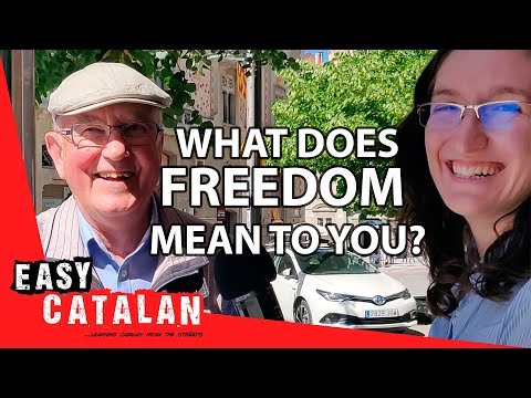 What does freedom mean to you? | Easy Catalan 7 photo