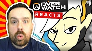 Reaction: OVERWATCH: No Mercy - The Living Tombstone