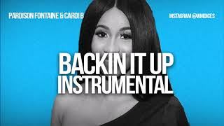 "Pardison Fontaine ""Backin it Up"" ft. Cardi B Instrumental Prod. by Dices *FREE DL*"