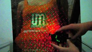 Lézer Mini Disco Fény használati útmutató/ Teszt - ugyismegveszel.hu