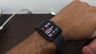 Esclarecimento sobre a função gota 💧 do Apple Watch.