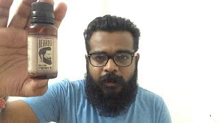 2017 BEARDO BEARD OIL REVIEW [4 month use] | How to apply beard oil correctly?|Beard grooming |Hindi width=