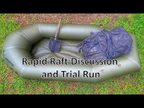 Rapid Raft Discussion and Water Test