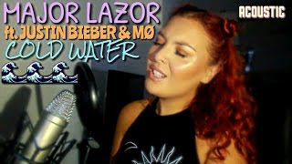 Major Lazer - Cold Water (feat. Justin Bieber & MØ) | Acoustic Cover By Amira