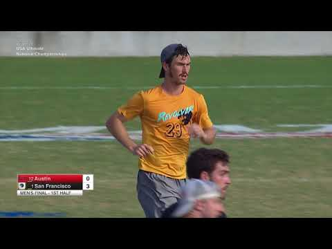 Video Thumbnail: 2017 National Championships, Men's Final: San Francisco Revolver vs. Austin Doublewide