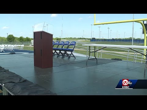 With storms in forecast, Olathe School District ready with graduation backup plans