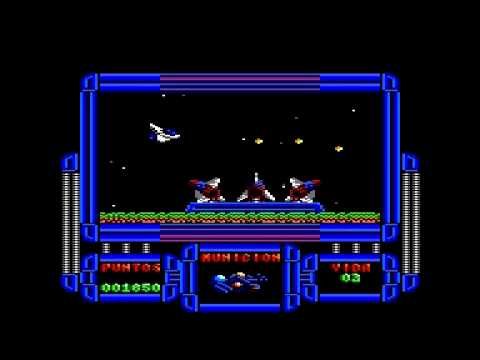 Meganova (Dinamic 1988) - Amstrad CPC