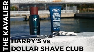 Harry's vs Dollar Shave Club - Best Shaving Subscription Plan | Razor Review and Comparison width=