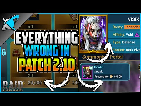 *EVERYTHING WRONG* IN PATCH 2.10 | RAID: Shadow Legends