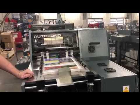 Autobond Mini 36 SD TP Two sided, thermal lamination, bursting separation