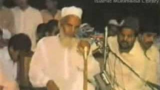 Qari Haneef Multani Urdu bayaan - Blind imam AWESOME!!!! width=