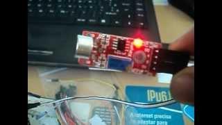 Microphone Sensor Sensitivity Sound Voice Module für Arduino PIC AVR TE136