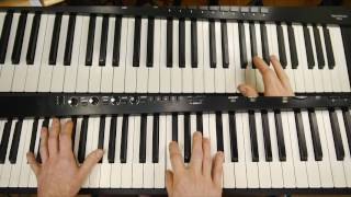 Piano chords for RJD2 - 'We Come Alive' (2016) - first part