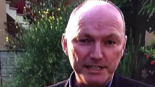 Reptilian/Shapeshifter Live On Sky News ( OMG His Eyes )