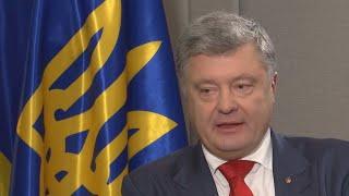 'Official US position, confirmed by Trump: Crimea is Ukrainian', Poroshenko says